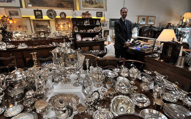 Treasure Chest Antiques Ltd | Silver Plates
